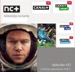 NC+ Telewizja na Kartę with selected package and 2849ST receiver for 12 months