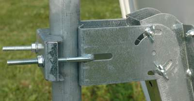 przykład mocowania anteny Emme Esse
