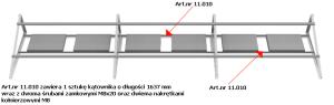 Konstrukcja PV. Art.nr 11.010 - kątownik L1637