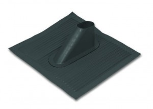 Dachówka aluminiowa 40x50 cm kolor czarny , Art.nr. 05.102