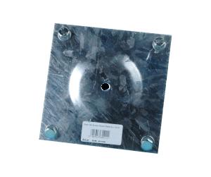 Blacha 150x150 wraz z śrubami M8x80 Art.nr 08.010