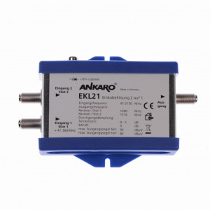 Multiswitch UniCable 2x1 EKL21 Ankaro