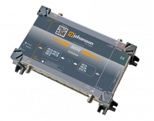 Johansson 8600 Universe DVB-S/S2/T/T2->DVB-T/IPTV