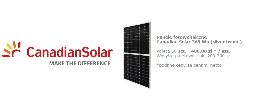 Canadian Solar 365 Wp